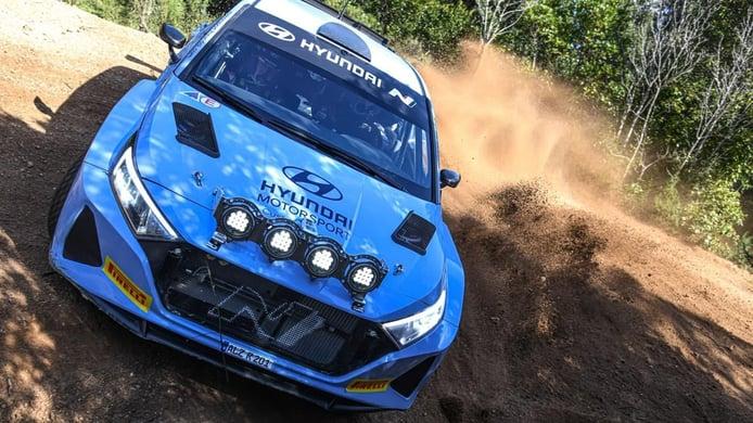 El Hyundai i20 N Rally2 debutará en el Ypres Rally de Bélgica en agosto