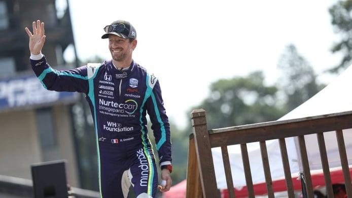 Prueba de fuego para Romain Grosjean con su primer test en óvalo