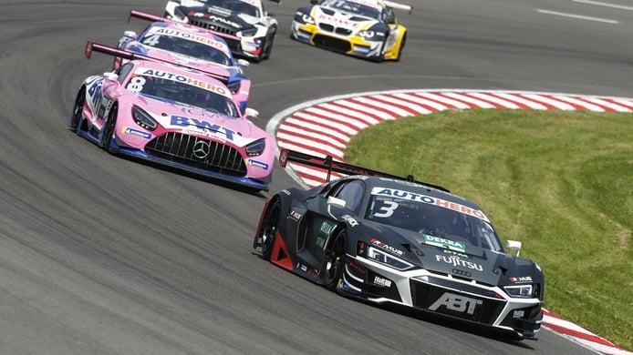 Kelvin Van der Linde mantiene el liderato del DTM en Lausitzring