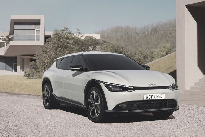 El KIA EV6 homologa su autonomía eléctrica en Europa, más de 500 kilómetros