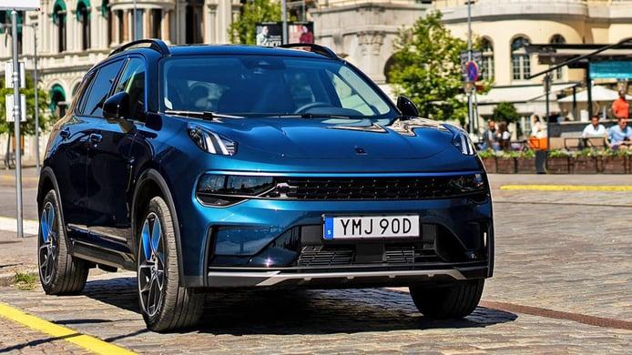 El nuevo Lynk & Co 01, un SUV híbrido de origen chino, ha llegado a España
