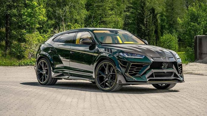 Mansory Venatus Lamborghini Urus, la propuesta inalcanzable de lujo y prestaciones