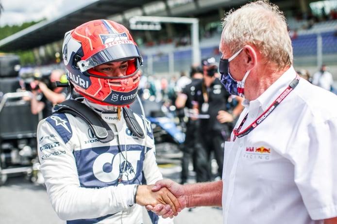 Marko ve a un nuevo Gasly, que aspira a más: «No es el de Red Bull»