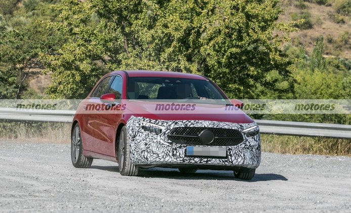El Mercedes Clase A Facelift recibirá interesantes novedades en 2022