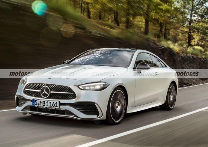 Adelanto del Mercedes CLE Coupé 2023, el futuro coupé de la estrella