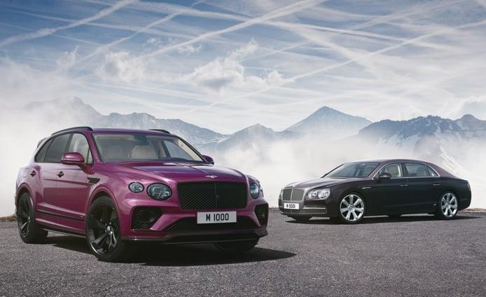 Un Bentley Bentayga V8 más especial completa los 1000 trabajos de Mulliner