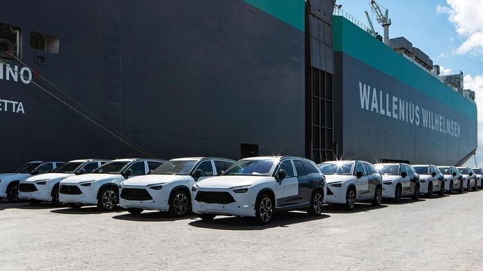 El primer lote del NIO ES8, el tecnológico SUV eléctrico chino, ya se dirige a Europa