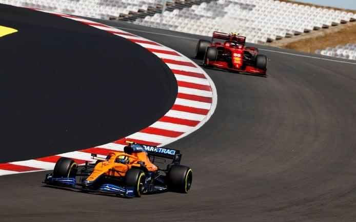 Norris: «No hay nadie a quien más me gustaría ganar que a Sainz»