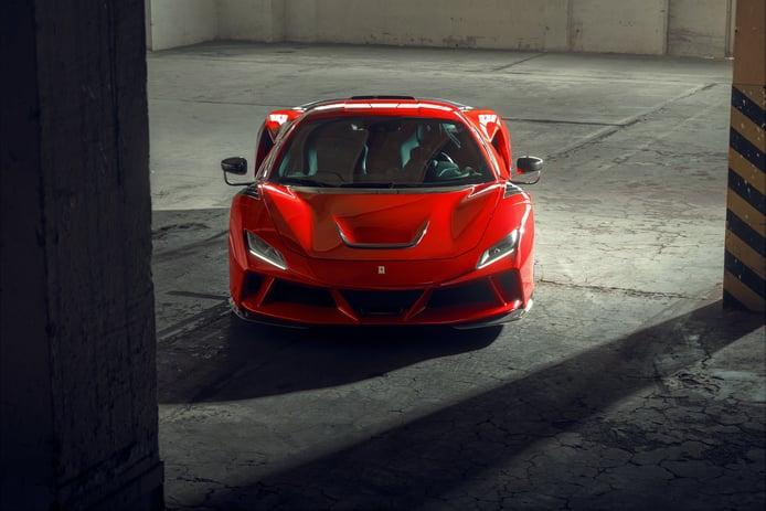Novitec Ferrari F8 N-Largo, el Tributo de Maranello se convierte en una bestia
