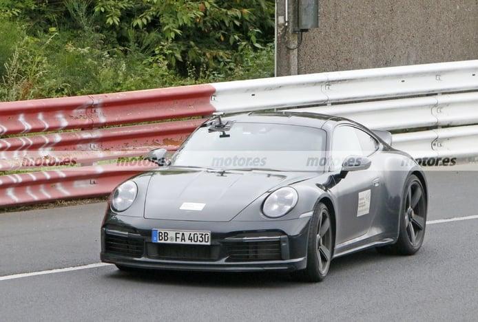 El Porsche 911 Sport Classic descubre nuevos detalles en Nürburgring