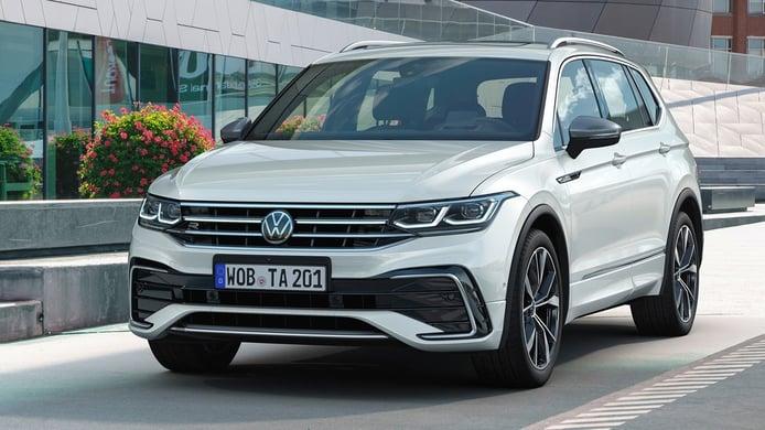 El nuevo Volkswagen Tiguan Allspace ya tiene precios, el SUV de 7 plazas se actualiza