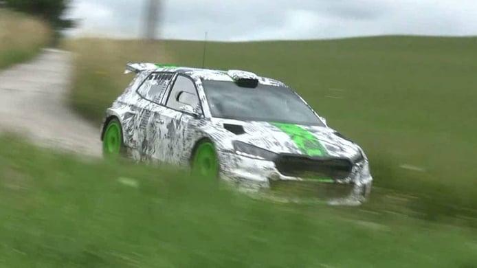 Skoda Motorsport trabaja en otra actualización del Skoda Fabia Rally2 Evo