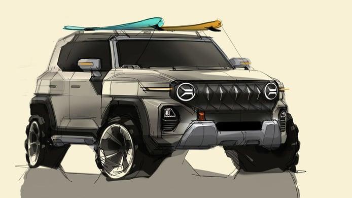 SsangYong adelanta su nuevo SUV de aspecto robusto y aventurero