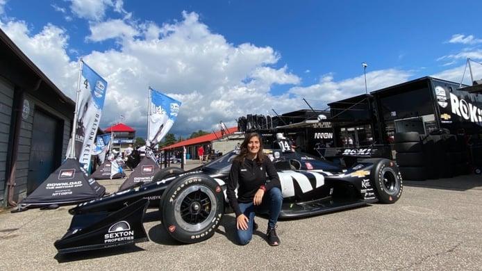 Tatiana Calderón probará un IndyCar con Foyt en Mid-Ohio