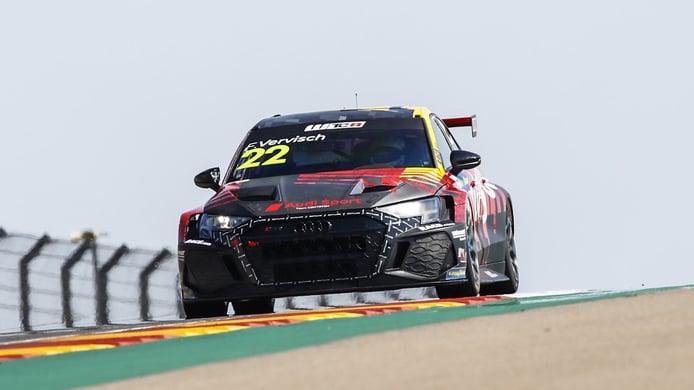 Vervisch logra el primer triunfo del nuevo Audi RS 3 LMS TCR en el WTCR