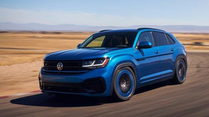 Volkswagen Atlas Cross Sport GT Concept, buscando el lado más deportivo