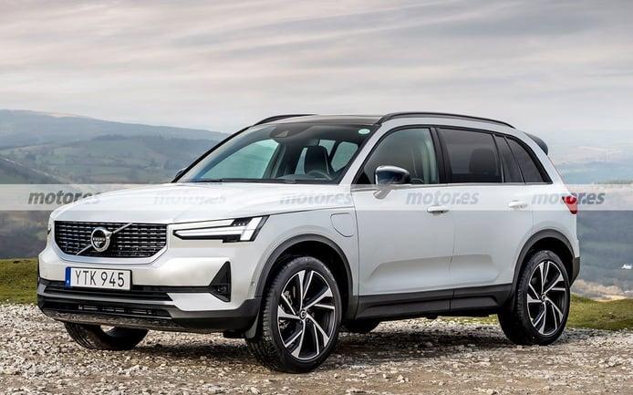 Adelanto del Volvo XC90 2022, el futuro competidor sueco del BMW iX