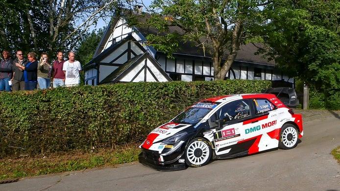 38 puntos definen la lucha por el título del WRC tras el Ypres Rally