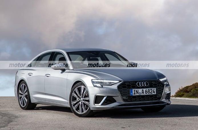 Adelanto del Audi A6 Facelift 2023, la nueva cara del alemán y sus novedades