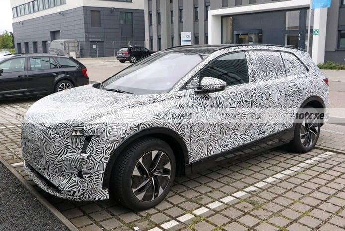 Nuevas fotos espía del Audi Concept Shanghai 2022, interior incluido