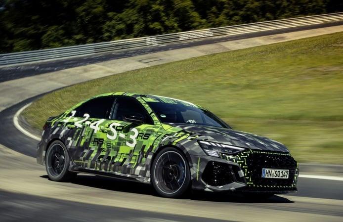 El nuevo Audi RS 3 Sedán se corona con un nuevo récord en Nürburgring