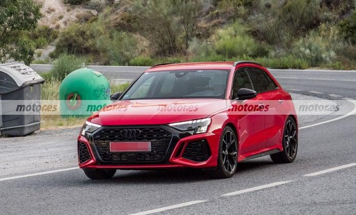 Al natural, el nuevo Audi RS 3 Sportback 2022 apura su última fase de pruebas