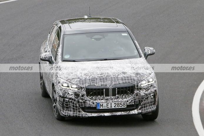 El BMW Serie 2 Active Tourer M Sport 2022 aparece en Nürburgring más destapado