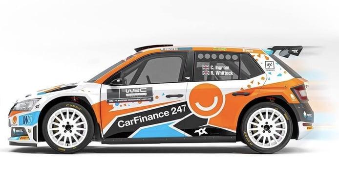 Chris Ingram se asienta en el WRC de la mano de Toksport WRT