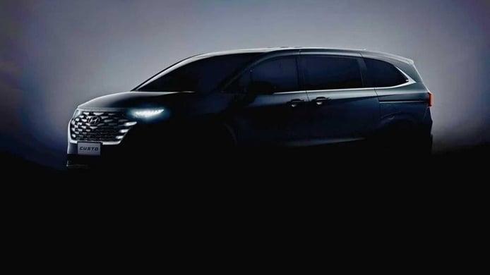 Nuevos teasers develan el lujoso interior del nuevo Hyundai Custo