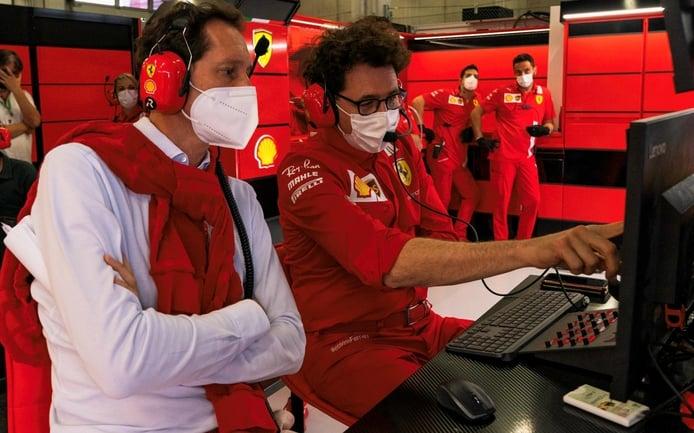 La increíble factura en reparaciones de Ferrari en 2021, desvelada por Binotto