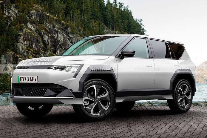 Adelantamos el diseño del KIA EV7 2024, un SUV eléctrico a la altura del Sorento