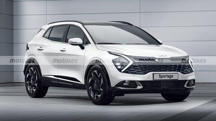 Así es el nuevo KIA Sportage 2022 para Europa, el nuevo SUV compacto coreano