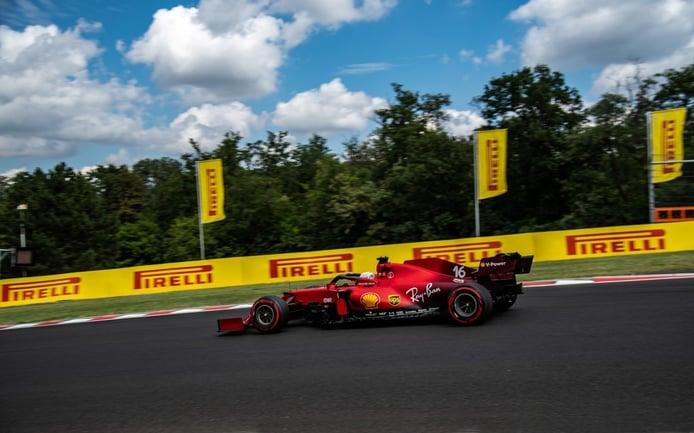 Leclerc pierde el motor del accidente de Hungaroring y se acerca a la sanción