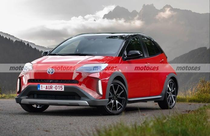 Adelanto del Toyota Aygo Cross 2022, el urbano llegará con un estilo crossover