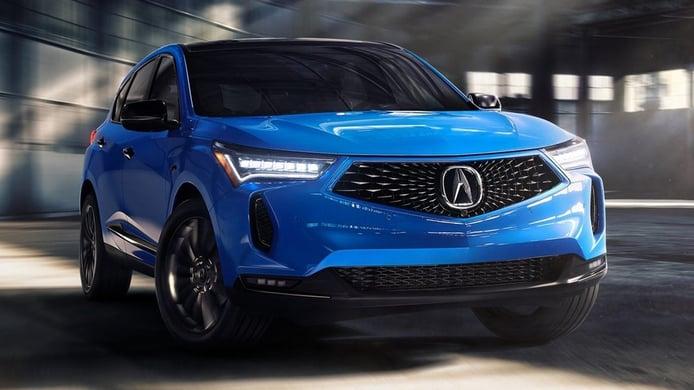 Acura RDX 2022 - frontal