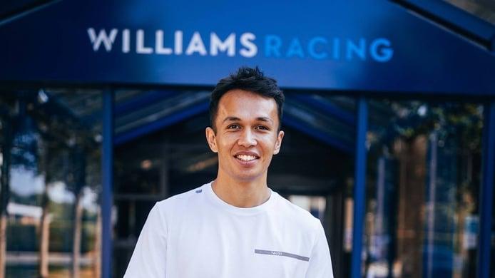 Alexander Albon vuelve a la F1 de la mano de Williams