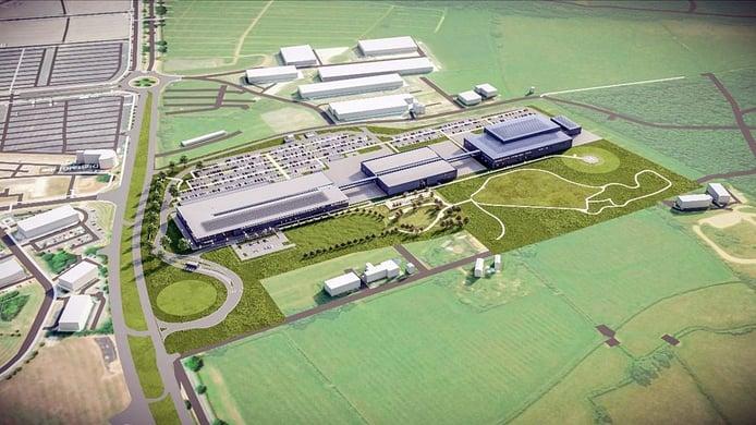 Aston Martin F1 inicia la construcción de su 'fábrica inteligente'