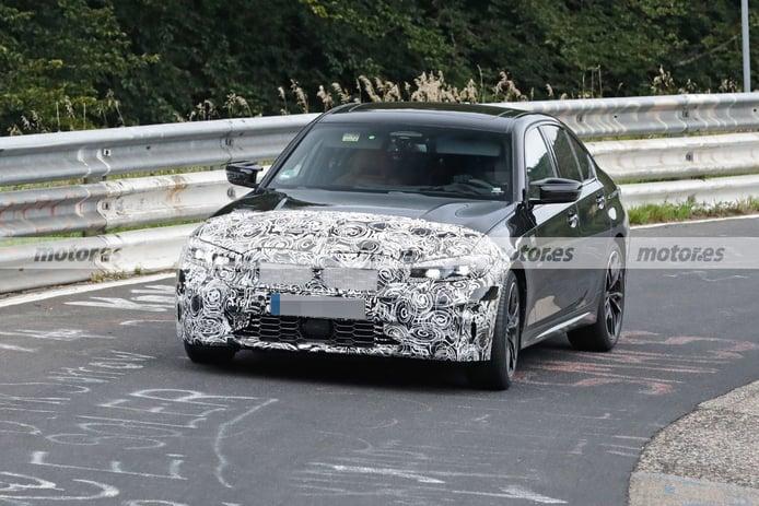 Los prototipos del BMW M340 Facelift 2023 posan a fondo en fotos en Nürburgring
