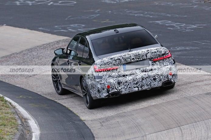 Foto espía BMW M340 Facelift 2023 en Nürburgring - exterior