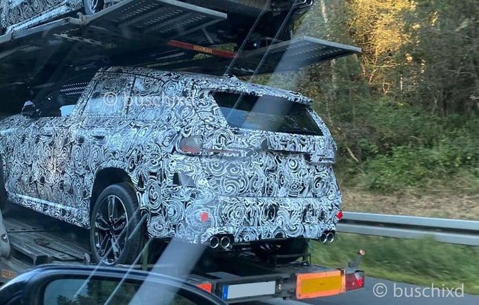 Cazado el nuevo BMW X1 M35i xDrive, el SUV compacto sumará una versión deportiva