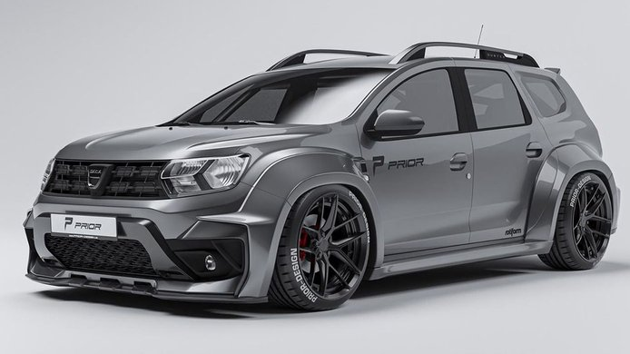 ¿El Dacia Duster más radical jamás creado? Prior Design desata la polémica
