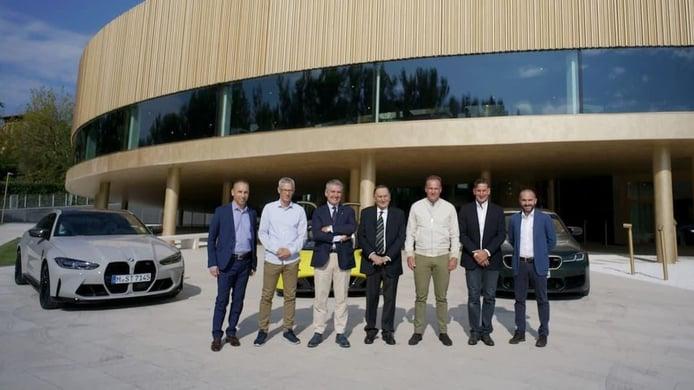 Dallara será el proveedor del chasis del LMDh de BMW Motorsport