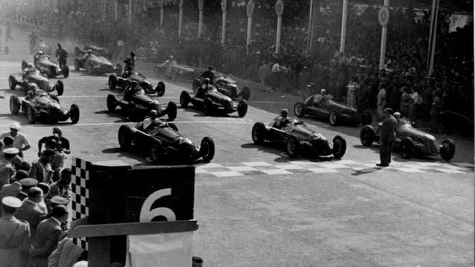 El GP de Italia de F1 de 1947, en Milán, pero no en Monza
