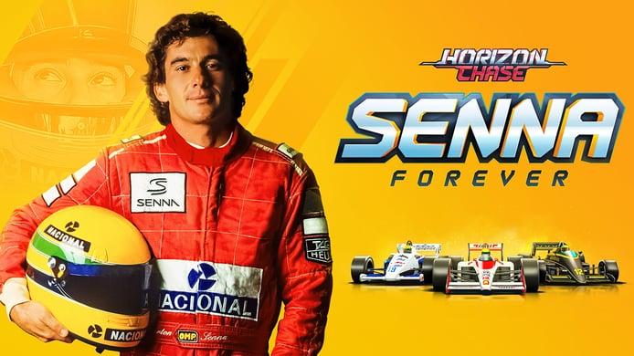 Horizon Chase rinde homenaje al piloto Ayrton Senna con una nueva expansión