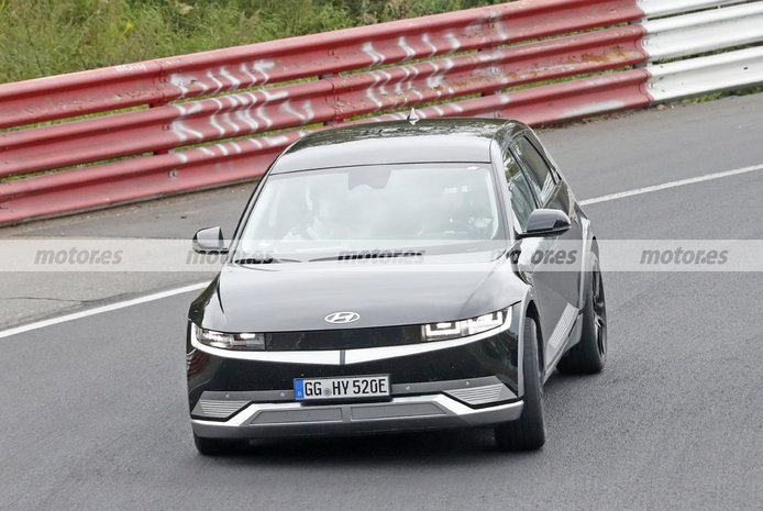 Los prototipos del futuro Hyundai IONIQ 5 N 2023 llegan a Nürburgring