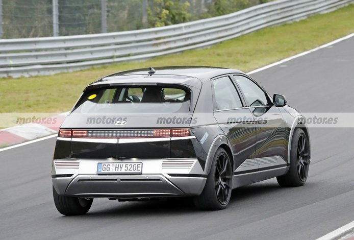 Foto espía Hyundai IONIQ 5 N en Nürburgring - exterior