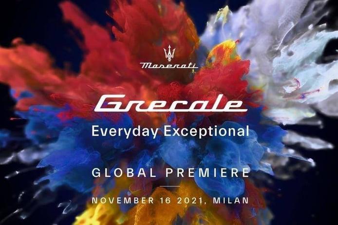 Teaser oficial del nuevo Maserati Grecale 2022