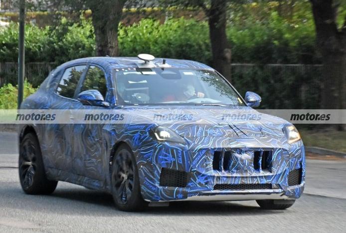 Cazado el nuevo Maserati Grecale Trofeo 2023 en fotos espía