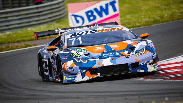 Mirko Bortolotti se une al DTM en Assen con un Lamborghini de T3