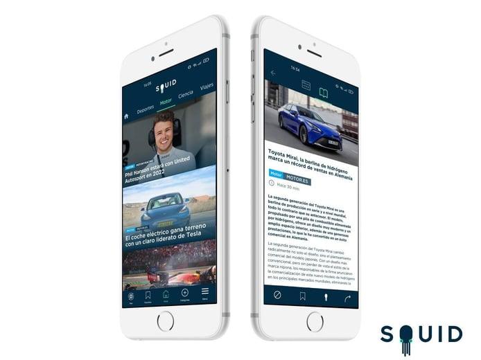 Nuestra web Motor.es se integra con SQUID